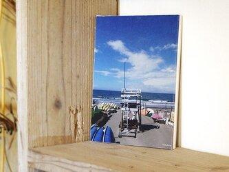 リサイクルフォトパネル|ビーチサイドカレンダー'11/7-8の画像