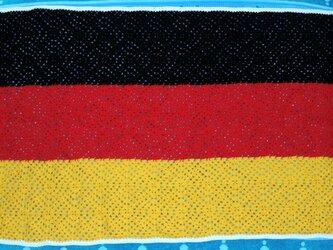 ドイツ国旗のブランケットの画像