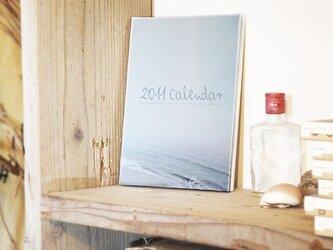 リサイクルフォトパネル|ビーチサイドカレンダー'11表紙の画像