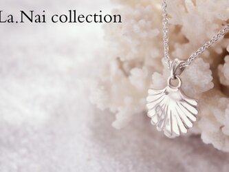 Makaha shell 貝をモチーフにした海を感じるペンダントの画像
