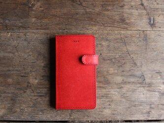 iphone 6.6S jaket レッドの画像