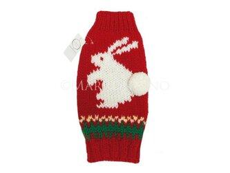 【犬セーター】どうぶつセーター/うさぎ〔#218〕の画像