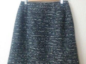 セミタイトスカート(ラメ入り)の画像