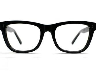 【男性向けサイズ】大きめセルロイド眼鏡067-BBの画像