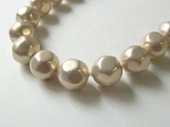大粒エアリーパールのバロックネックレスの画像