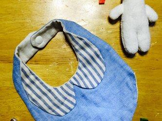 シンプル襟付きスタイの画像