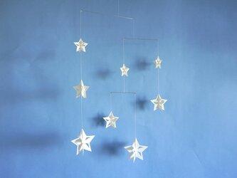 モビール「星B」その3の画像