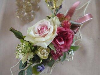 かわいいお花のリーフトレーの画像