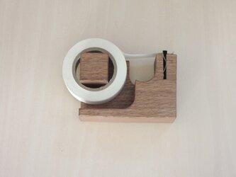 マスキングテープカッター(オリジナル)ウォールナットの画像