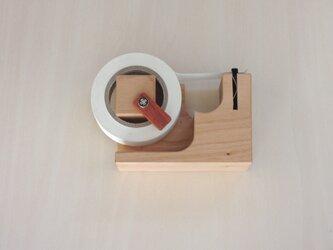 マスキングテープカッター(ストッパー、磁石付)チェリーの画像