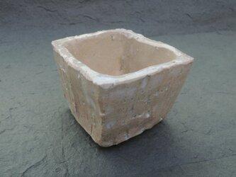 ミニ盆栽鉢 灰釉の画像