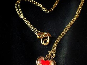 【monokli】baroque heart~いびつなハートのネックレス~の画像