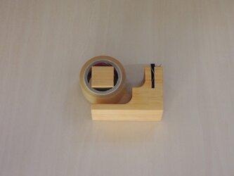 ミニテープカッター ヒノキの画像