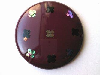 蒔絵姫鏡『紫の月』の画像