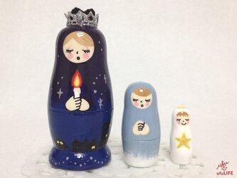 祈り - prayer マトリョーシカ (Sサイズ)の画像