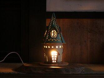 陶の灯りとり(1)の画像