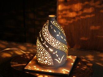 陶の灯りとり(2)の画像