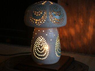 陶の灯りとり(3)の画像