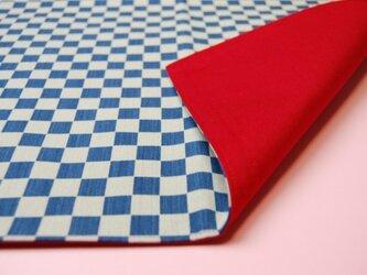 藍染 ランチョンマット(市松)の画像