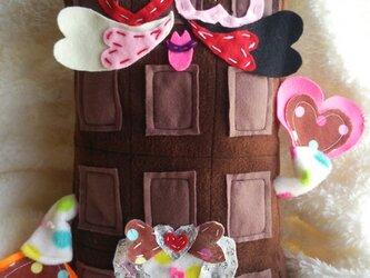 【受注製作】2月のだきまくら 『板 チョコ造せんせー(いた ちょこぞーせんせー)』の画像