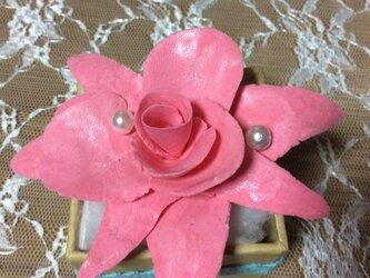 ピンクバラ3の画像