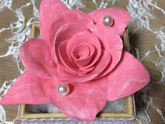 ピンクバラ4の画像