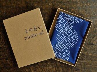 藍染ハンカチ(丸重ね)の画像