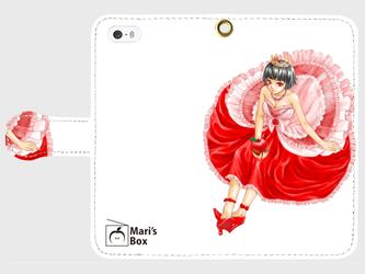 【受注生産】オリジナルデザインiPhoneケース【QueenApple】の画像