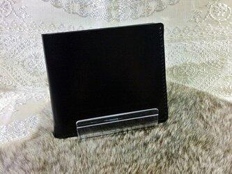 コードバン「二つ折り財布」の画像