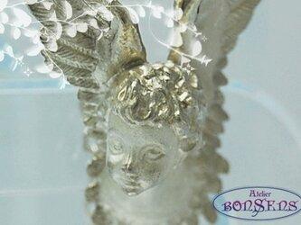 男前 エンジェル 天使ラッキーモティーフ Silver 925  ペンダントの画像