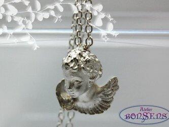 ひとりごと  Silver925 シルバー 天使/エンジェル ペンダントの画像