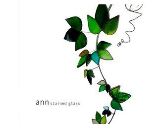 ステンドグラス アイビーA160205-Gの画像