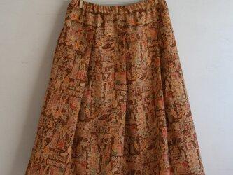 ウール エジプトのゴムスカート Mサイズの画像