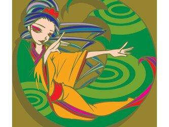 ドリン娘 〜日本茶〜の画像