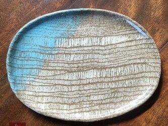 彩 楕円皿の画像