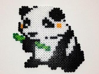 アイロンビーズアート【パンダ】の画像