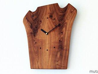 エンジュの壁掛け時計3の画像