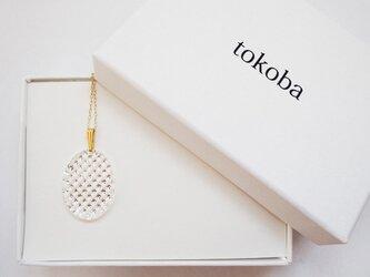 tokoba クリスタルネックレス D-nanakoの画像