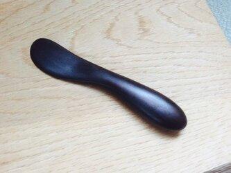 黒檀 ナイフの画像