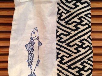 おつかいバッグ・魚の画像