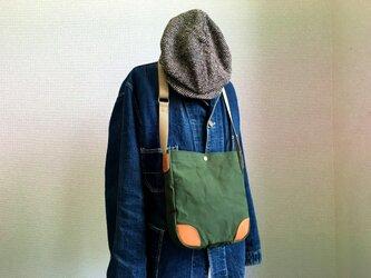 トラッドポケットショルダーバッグの画像