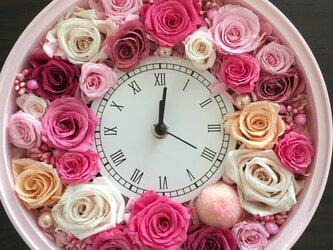 春の花時計の画像
