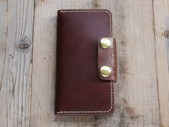 [iPhone6対応] Leather iPhone6 Coverの画像