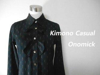 KIMONOシャツワンピースの画像