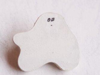 ゴーレムブローチ02 ホワイトの画像