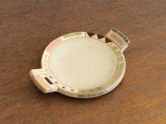 幾何学文様豆皿(丸)(No.262)の画像