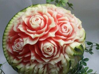 スイカ   薔薇の画像