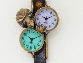 蓮、きれいね腕時計の画像