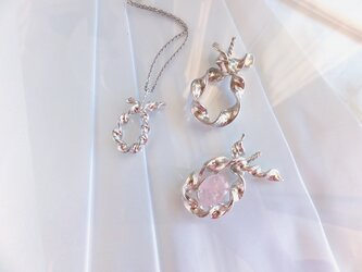 Silver Pendant (Twisted - S)の画像