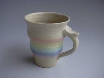 クィーンパステルマグカップの画像